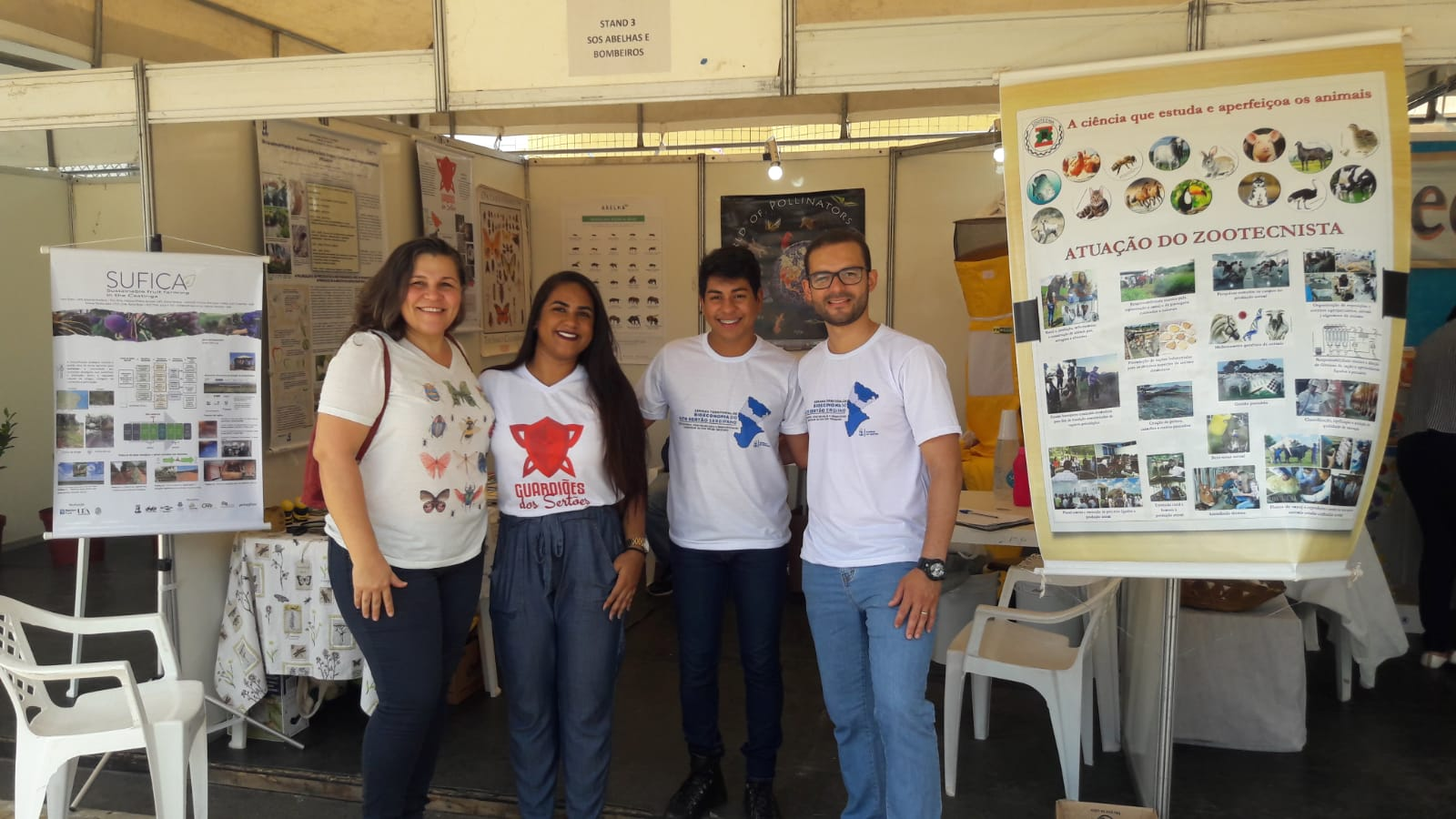 Fabiana Silva at Bioeconomy Territorial Week of Semiarid Sergipe, at the National Science and Technology Week 2019